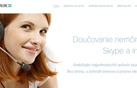 Pripravili sme nový web Nemcina-online.sk | Webovica.sk
