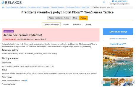 Pre web Relaxos sme pripravili UX analýzu nového webu | Webovica.sk