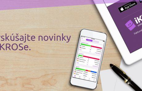 Web design landing page iKROS.sk | Webovica.sk