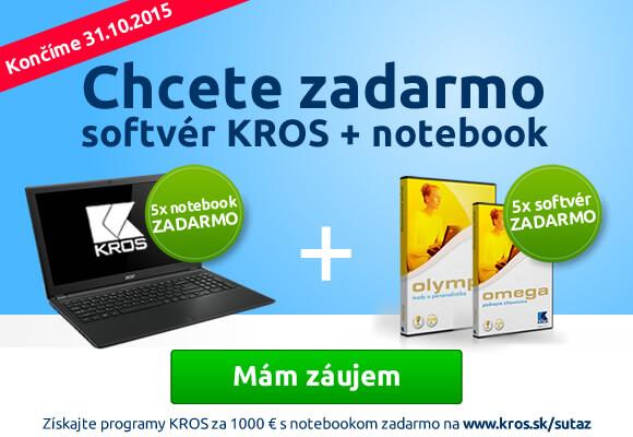 Banner pre Adwords online reklamu na produkty KROS | Webovica.sk