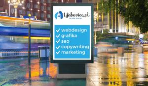 Atraktívne návrhy billboardov a citylightov | Webovica.sk