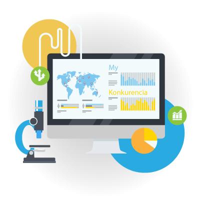 Analyzujeme vašu konkurenciu na internete, SEO služby | Webovica.sk