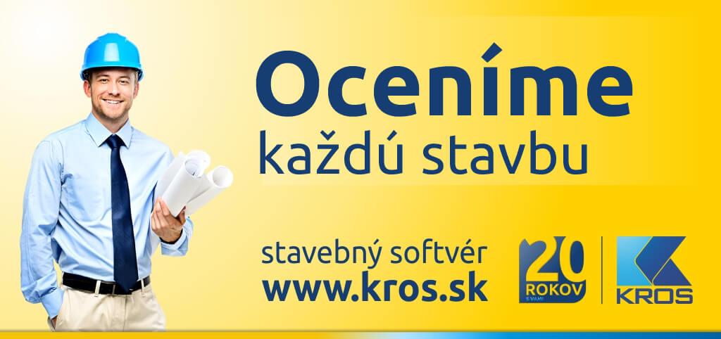 Návrh billboardu pre stavebný softvér pre spoločnosť KROS