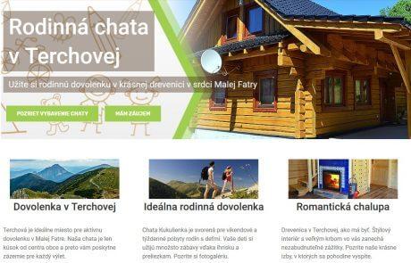 Pripravili sme nové stránky pre chatu Kukulienka | Webovica.sk