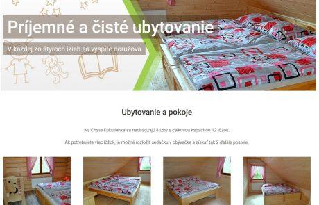 Vytvorili sme stránky chatakukulienka.sk | Webovica.sk