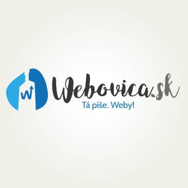Návrh loga pre skvelú online agentúru Webovica