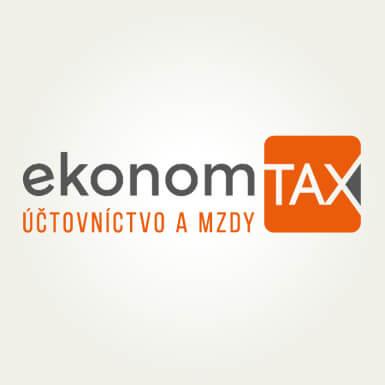 Návrh loga, tvorba firemného loga EkonomTax | Webovica.sk