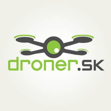 Návrh nového loga pre droner.sk | Webovica.sk