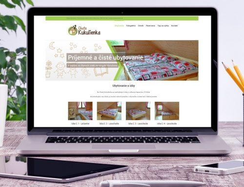 Tvorba loga a web stránky pre Chatu Kukulienka
