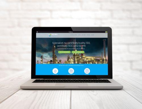Tvorba webovej stránky Sigmapoint.sk