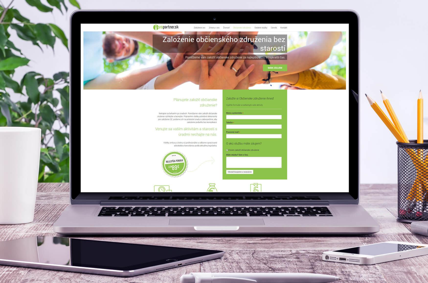 Webdizajn, tvorba webových stránok lacno a rýchlo - Webovica.sk