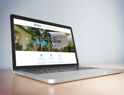 Vytvorenie webovej stránky pre Eleko Žilina