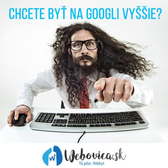 SEO konzultant pre váš web/e-shop. Ako sa dostať na prvú stranu Googlu - SEO analýzy, SEO služby, kvalitné SEO od Webovice.sk