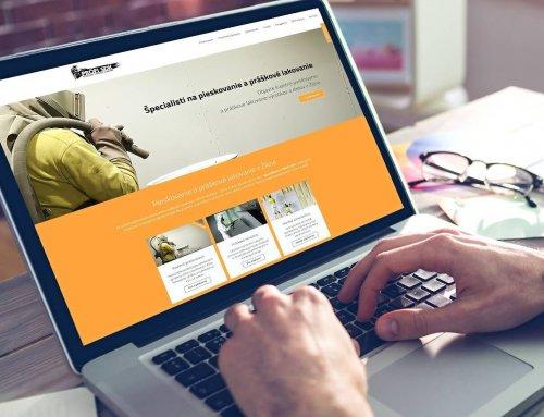 Tvorba webovej stránky ProfiSDK.sk