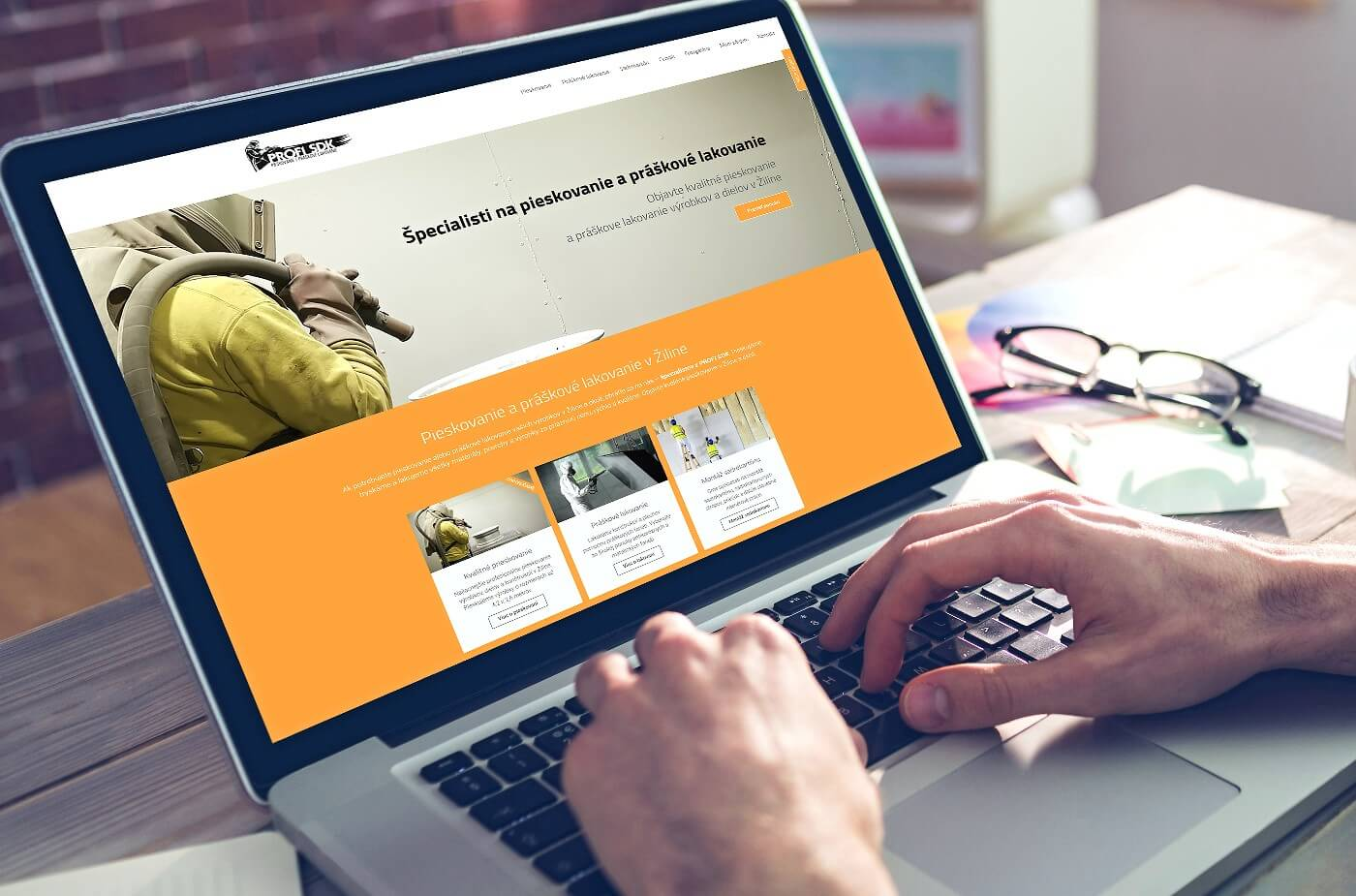 Tvorba web stránok pre firmu www.profisdk.sk | Webovica.sk