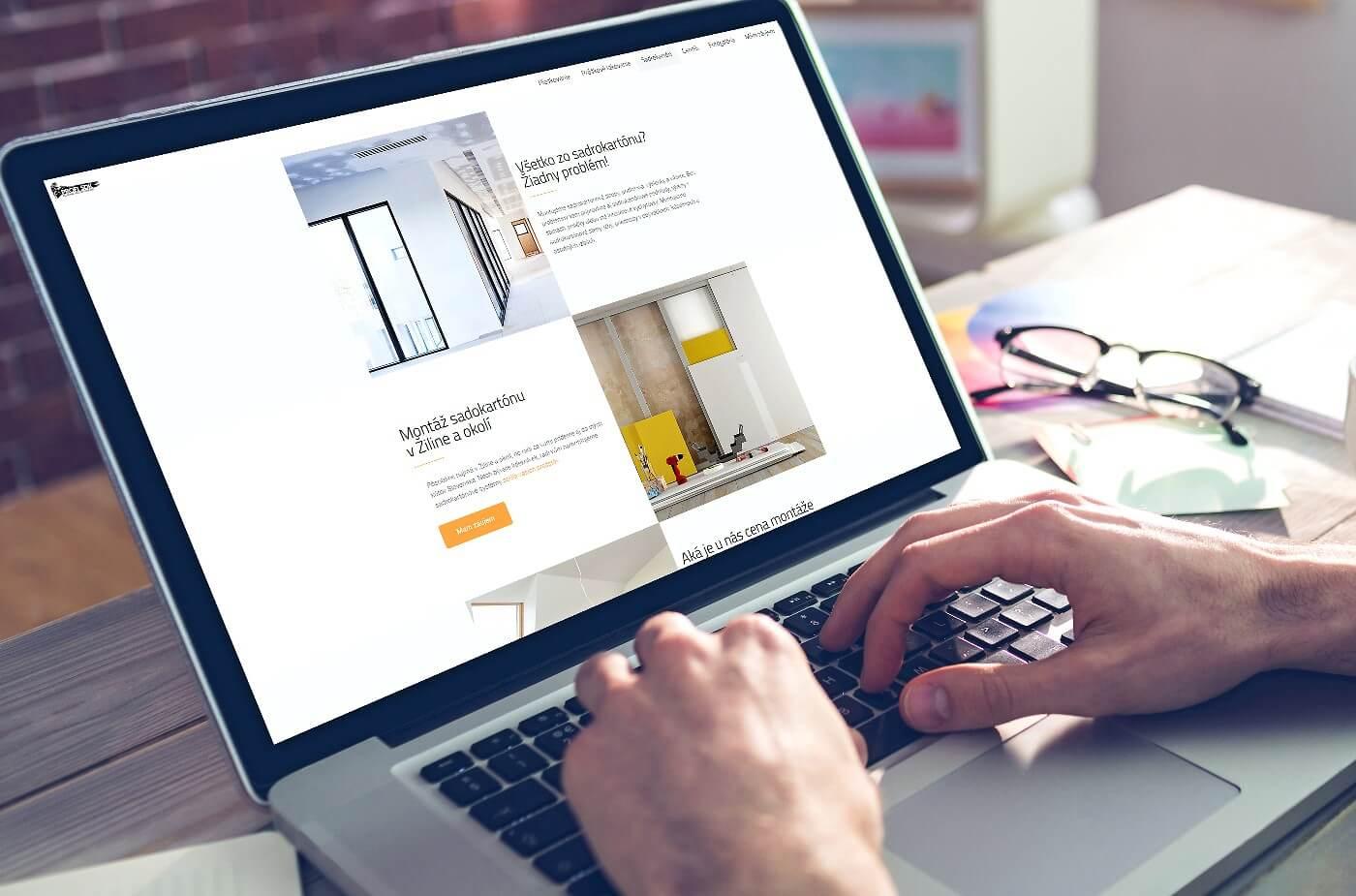 Vytvorenie webovej stránky firmy www.profisdk.sk | Webovica.sk
