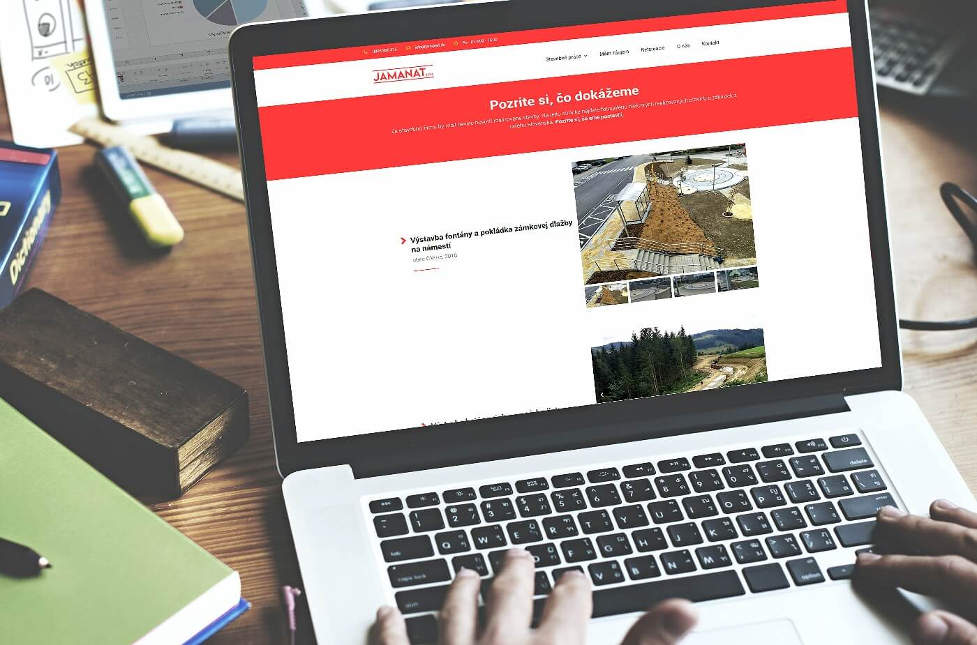 Vytvorenie webovej stránky www.jamanat.sk | Webovica.sk