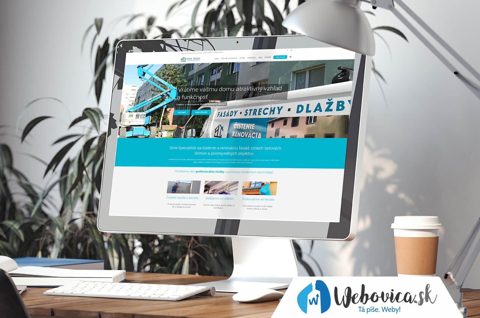 Tvorba webovej stránky - www.pemtrade.sk | Webovica.sk
