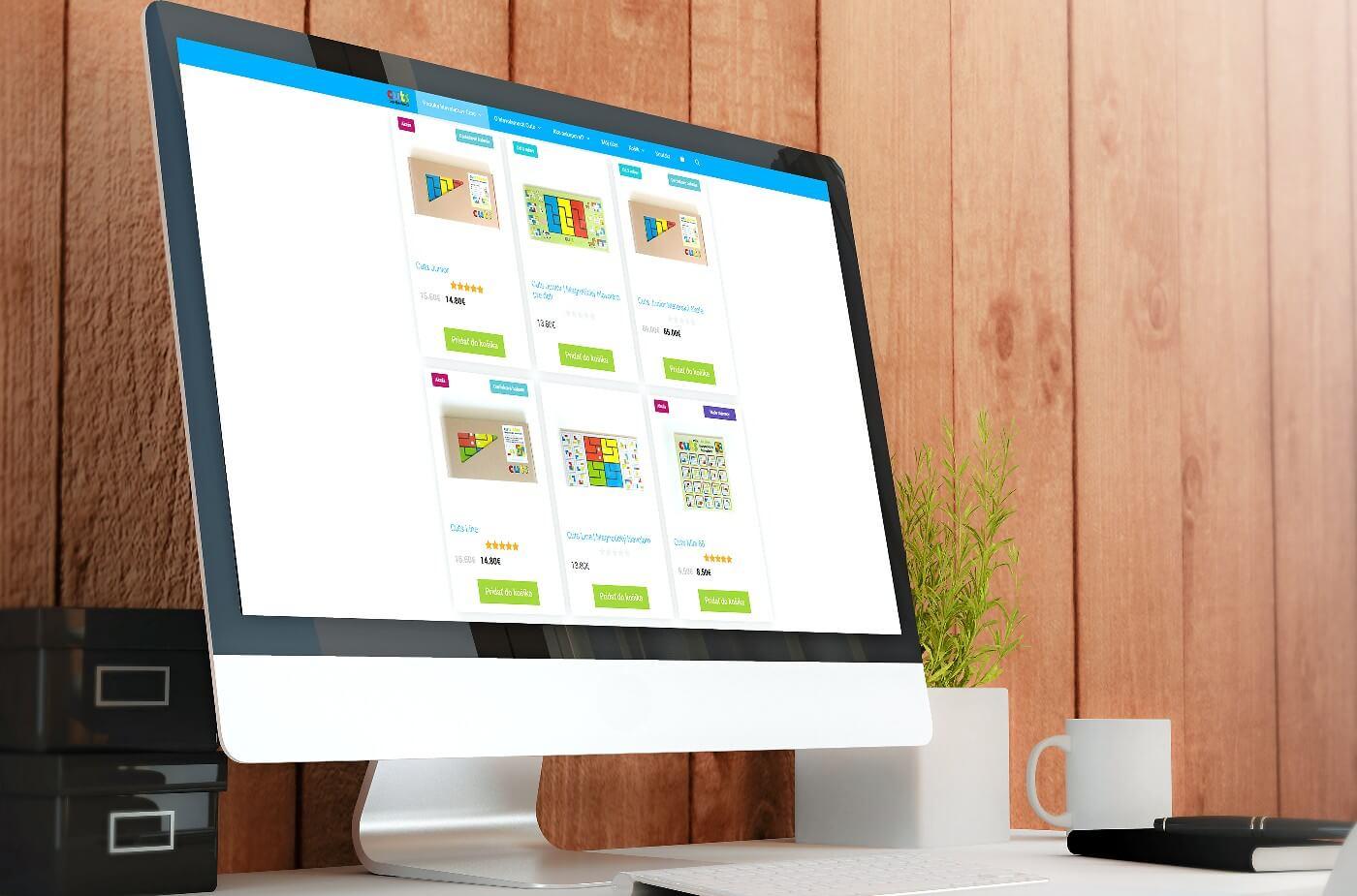 Tvoba webovej stránky a e-shopu - cuts-hlavolam.sk | Webovica.sk