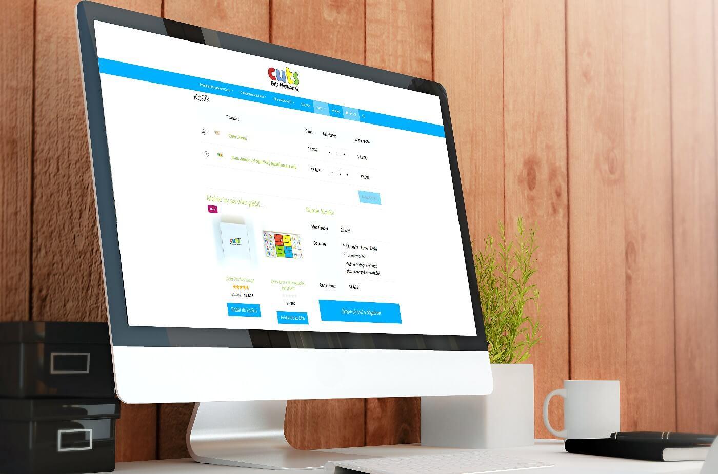 Tvoba web stránky, e-shopu - cuts-hlavolam.sk | Webovica.sk