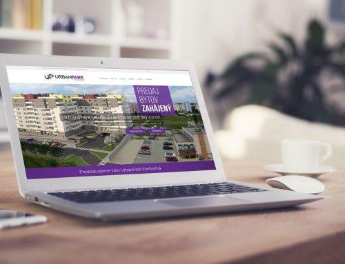 Tvorba webu pre projekt Urban Park Trenčín