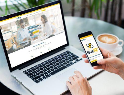 Tvorba webu pre certifikačnú spoločnosť Elbacert